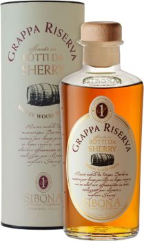 Sibona Grappa Riserva Botti da Sherry 0,5 l - productkeywords