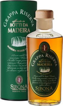 Sibona Grappa Riserva Botti da Madeira 0,5 l - productkeywords